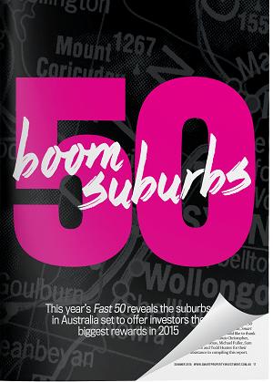 Fast 50 Boom Suburbs