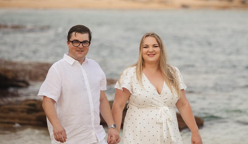 Ryan Atkins and Zita Malinauskaite