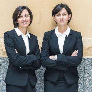 Sana and Mona Ali, Property Twins