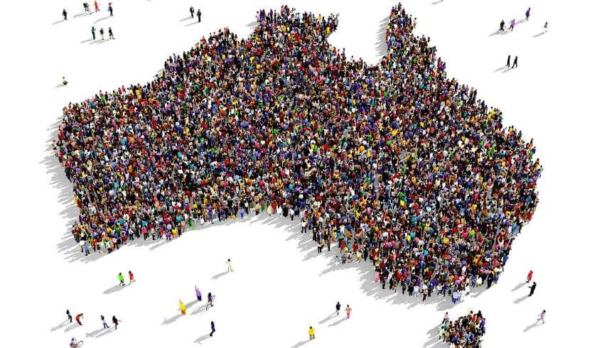 Australia's fastest growing, population growth
