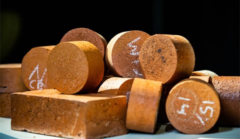 biosolid bricks