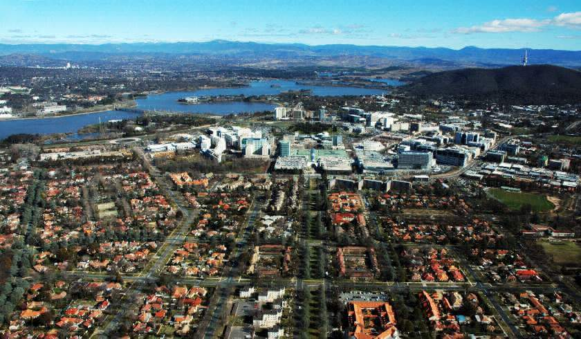 confident option property investment canberra cityscape
