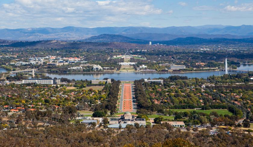 Canberra Australia, long-term investment