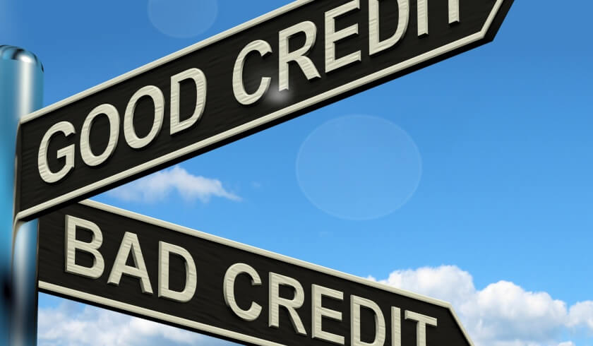Credit score, good credit, bad credit
