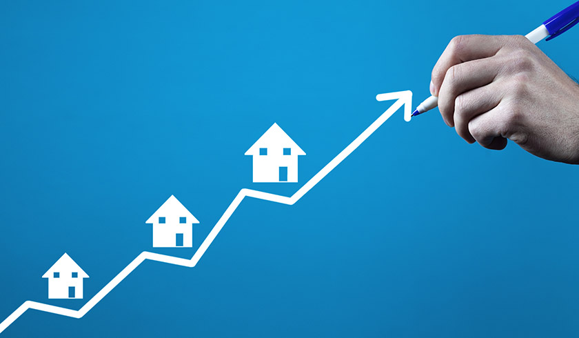 Growing housing market