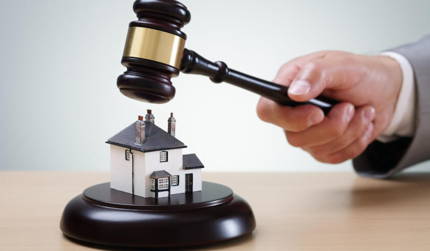Auction, house auction, buying or selling properties, property auction