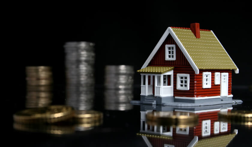 House, coins, housing affordability