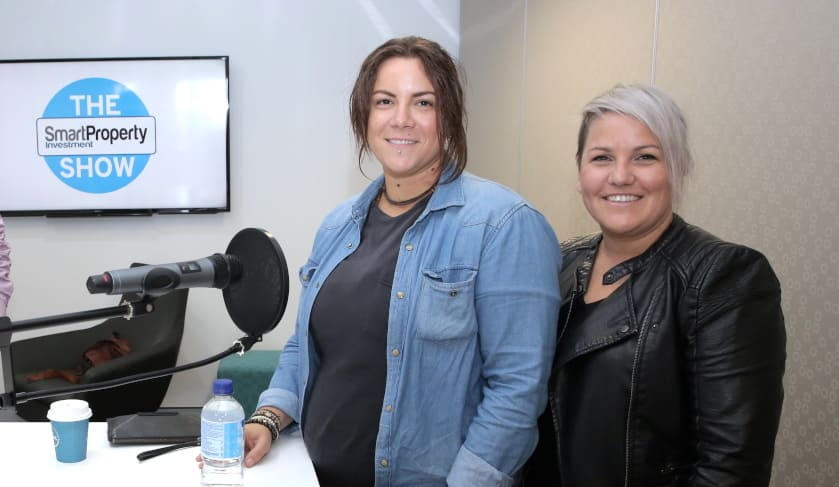 Lauren and Lena on The Smart Property Investment Show podcast
