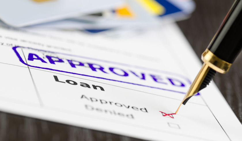 Approval of loan
