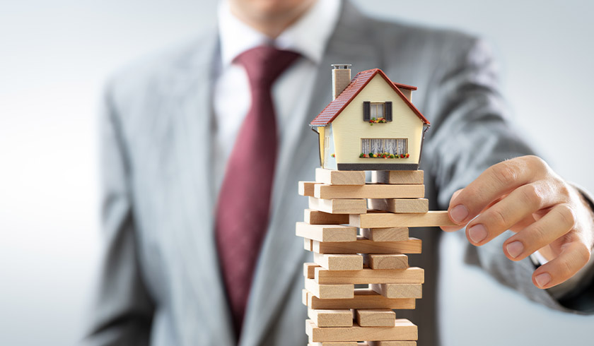 Property market instability