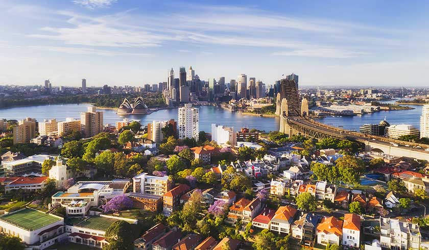 Sydney property aerial