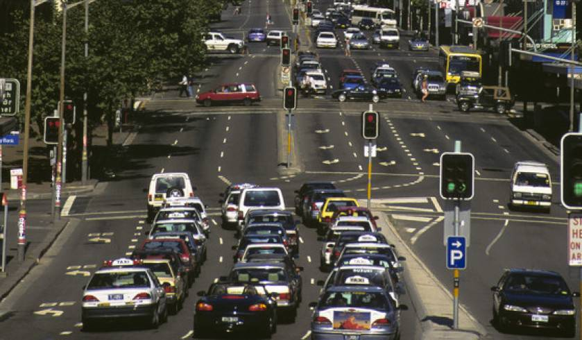Traffic in Sydney