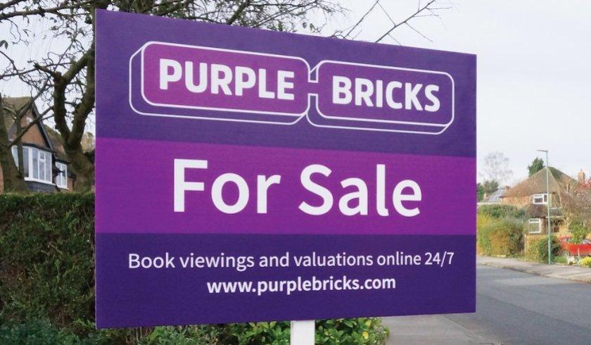 Purplebricks signage