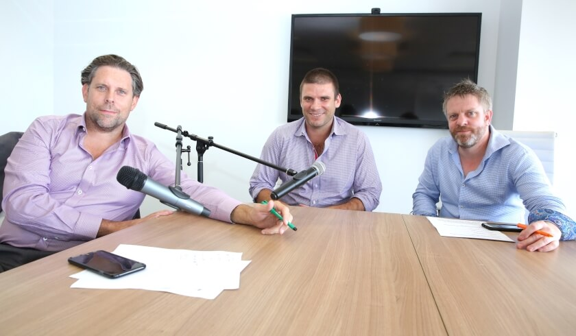 Phil Tarrant, Eric Brown, Andrew Scott