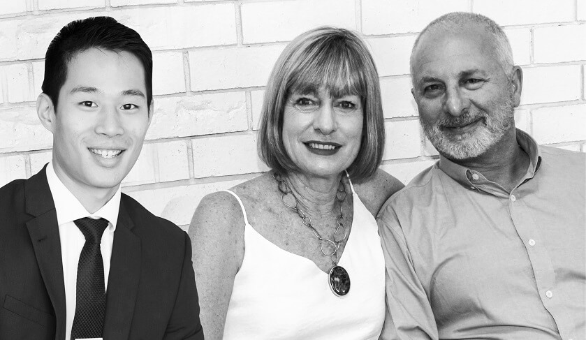 Tanya and Edward Giuffre, Evolve Styling and William Chan, Savills