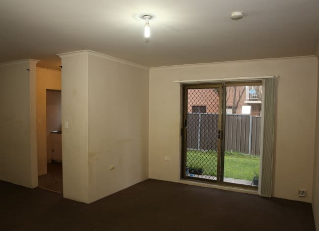 Mount Druitt property before renovation