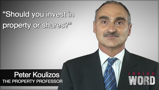 Should you invest in property or shares?,<p><strong>Peter Koulizos, Should you invest in property or shares?</strong></p>