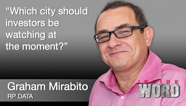 15 October 2012 - Graham Mirabito,<p><strong>Graham Mirabito, RP Data</strong>: Which city should investors be watching at the moment?</p>