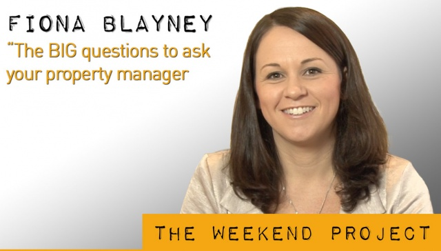 17 May 2013 - Fiona Blayney,<p><strong>Fiona Blayney, managing director of Blayney Potential Plus: The BIG questions to ask your property manager