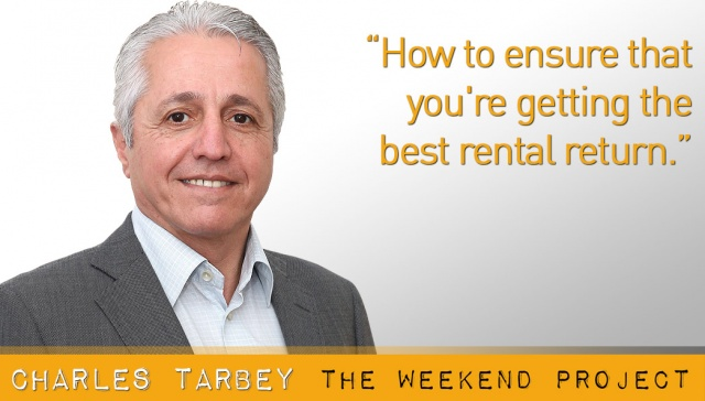 How to ensure that you're getting the best rental return -- Charles Tarbey,<p><strong>Charles Tarbey: How to ensure that you're getting the best rental return<br /></strong></p>