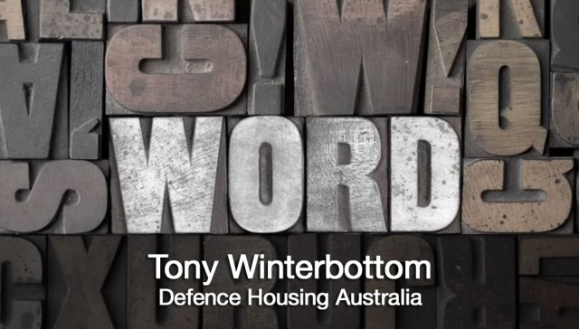 7 May 2012 - Tony Winterbottom,<p><strong>Tony Winterbottom, DHA</strong>: Is now a good time to invest in residential property in Australia<em></em></p>