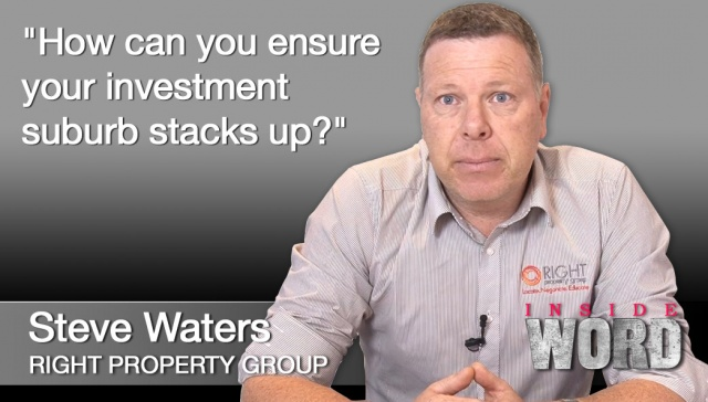 5 November 2012,<p><strong>Steve Waters, Right Property Group</strong>: How can you ensure your investment suburb stacks up?<hr /><strong>Steve Waters, director, Right Property Group</strong>: How can you ensure your investment suburb stacks up?</p><div class=