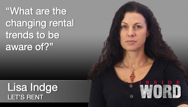 22 October 2012 - Lisa Indge,<p><strong>Lisa Indge, Let's Rent</strong>: What are the changing rental trends to be aware of?</p>