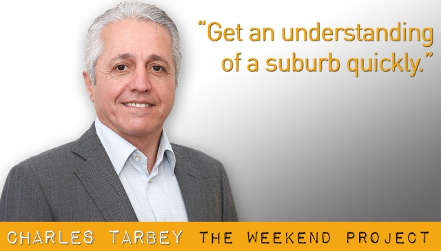 Get an understanding of a suburb quickly - Charles Tarbey,<p><strong>Charles Tarbey, Century 21: Get an understanding of a suburb quickly