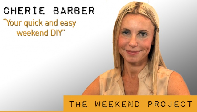 Your quick and easy weekend DIY -- Cherie Barber,<p><strong>Cherie Barber, Renovating for Profit: Your quick and easy weekend DIY