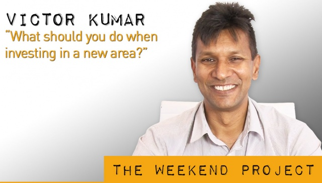 12 April 2013 - Victor Kumar,<p><strong>Victor Kumar, Right Property Group: What should you do when investing in a new area? <br /></strong></p>