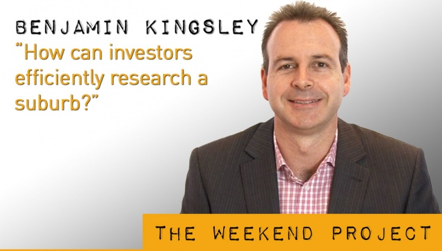 7 December 2012,<p><strong>Benjamin Kingsley, PIPA</strong>: How can investors efficiently research a suburb?</p>