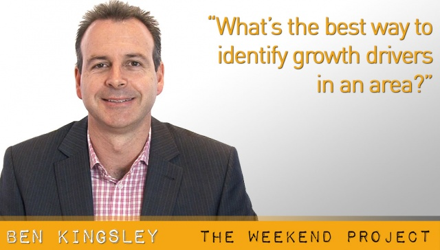 What's the best way to identify growth drivers in an area? ,<p><strong>Ben Kingsley, Empower Wealth : What's the best way to identify growth drivers in an area?