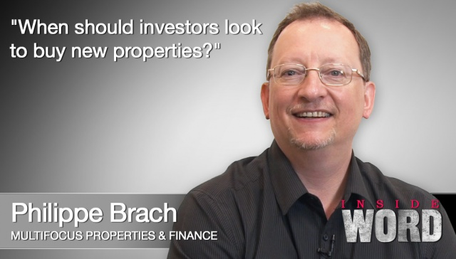21 January 2013 - Philippe Brach,<p><strong>Philippe Brach, CEO, Multifocus Properties &amp; Finance <strong></strong></strong>: When should investors look to buy new properties?</p>