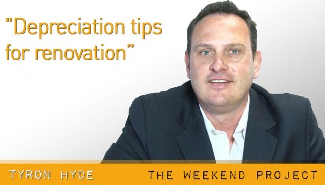 Depreciation tips for renovation,<p><strong>Tyron Hyde, Depreciation tips for renovation</strong></p>