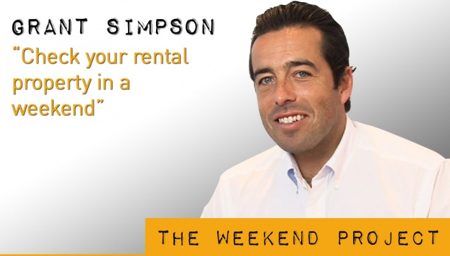 21 December 2012 - Grant Simpson,<p><strong>Grant Simpson, Director, <strong>Key Asset Management</strong></strong>: Check your rental property in a weekend</p>