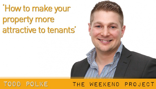 How to make your property more attractive to tenants,<p><strong>Todd Polke, Positive Real Estate</strong></p> <p>There are some small things you can do over the weekend to ensure your property appeals to prospective tenants more than competing properties</p>
