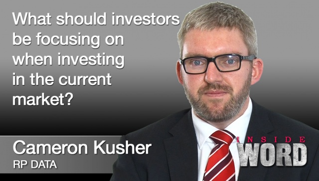 10 September 2012 - Cameron Kusher,<p><strong>Cameron Kusher, RP Data</strong>: What should investors be focusing on when investing in the current market?</p>