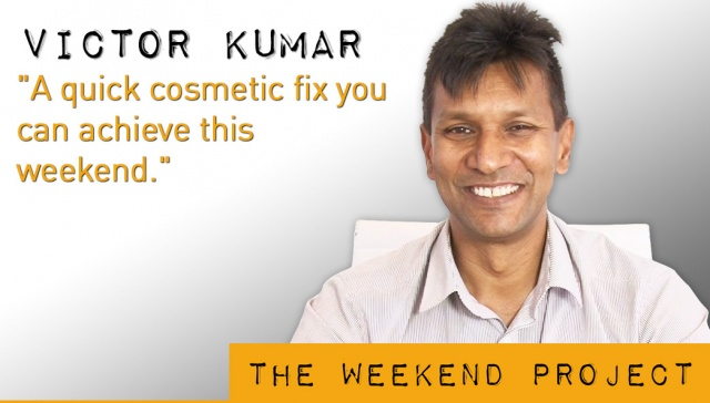 11 January 2013 - Victor Kumar ,<p><strong>Victor Kumar, Director, <strong>Right Property Group</strong></strong>: A quick cosmetic fix you can achieve this weekend</p>