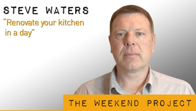 Renovate your kitchen in a day -- Steve Waters,<p><strong>Steve Waters, Right Property Group: Renovate your kitchen in a day&nbsp;