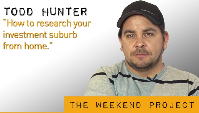 15 March 2013 - Todd Hunter,<p><strong>Todd Hunter, WHEREGROUP : How to research your investment suburb from home <br /></strong></p>