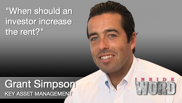 4 December 2012 - Grant Simpson,<p><strong>Grant Simpson, Key Asset Management</strong>: When should an investor increase the rent?</p>