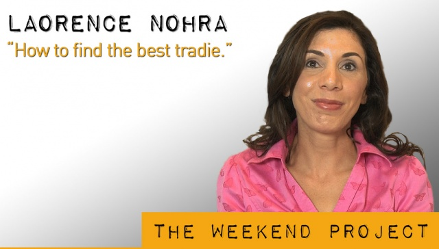 10 May 2013 - Laorence Nohra,<p><strong>Laorence Nohra, CEO, Tradebusters: How to find the best tradie</strong></p>